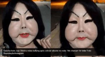 Após colocar silicone no rosto, Juju reclama que está sendo chamada de Fofão
