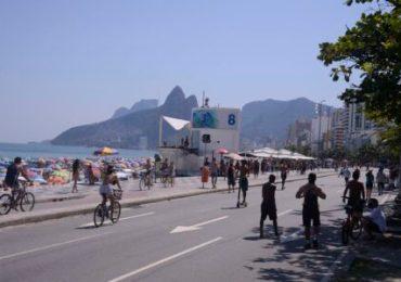 Rio de Janeiro - Praias lotadas neste final de semana