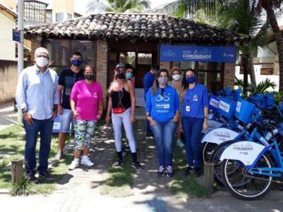 Bike Comunidade chega a Stella Maris e Praia do Flamengo