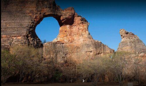 Parque Nacional da Capivara - Patrimônio cultural da humanidade está ameaçado pelo fogo