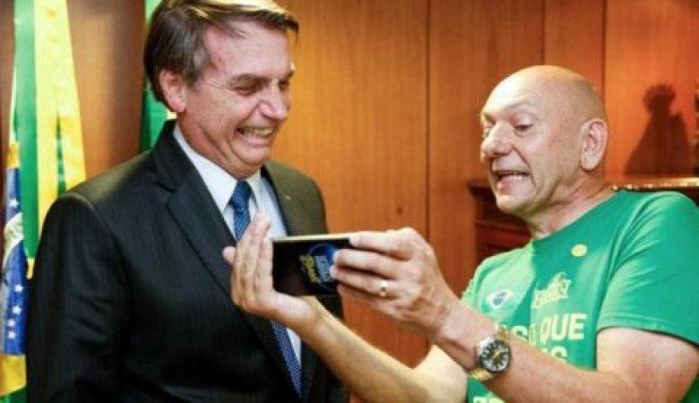 "Vice- procurador da República pede quebra de sigilo de ""Ze Carioca"" (Luciano Hang)"