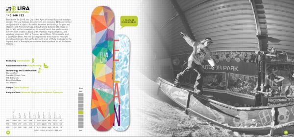 elan snowboard Veroniqi Hanssen