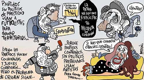 Candidaturas utilitarias - Magú
