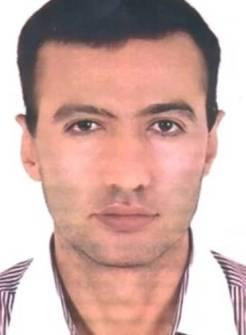 La televisora estatal iraní IRIB difundió el retrato de Reza Karimi, de 43 años, presunto autor del ataque contra la central nuclear de Natanz el pasado domingo.