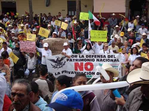 AMLO en gira por Michoacán