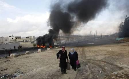Israel empezó la operación Plomo endurecido sobre territorio palestino el 27 de diciembre