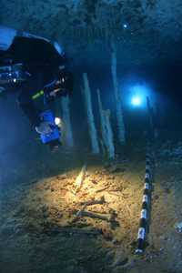 Under Water Cavern is located in Tulum Mexico