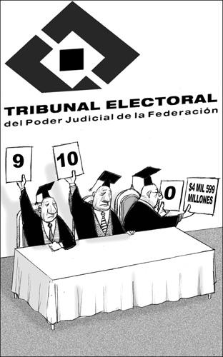 Calificación de la elección - Fisgón