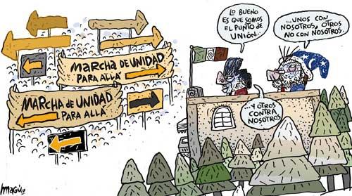 Unidad dividida - Magú
