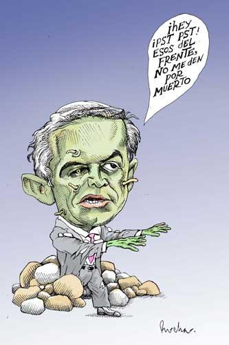 No soy un político, soy un zombie - Rocha