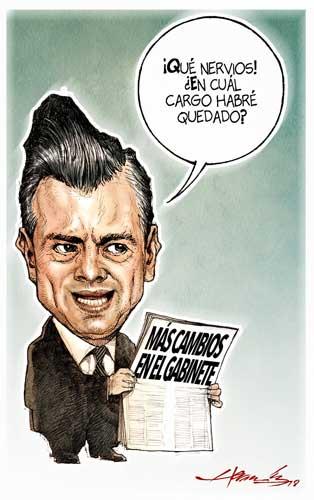 Más cambios en el gabinete - Hernández