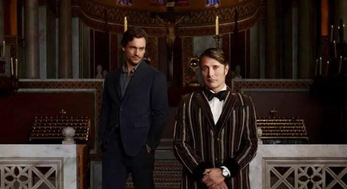 Imagem promocional da série Hannibal