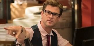 Chris Hemsworth no filme Caça-Fantasmas