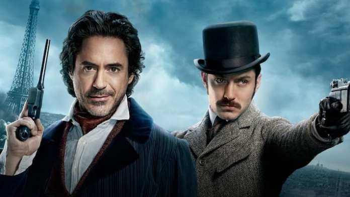 Imagem Promocional de Sherlock Holmes