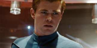 Chris Hemsworth em Star Trek