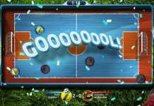 Foto do jogo super button soccer