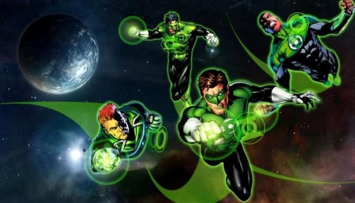 Lanterna Verde / Tropa dos Lanternas Verdes / Liga da Justiça