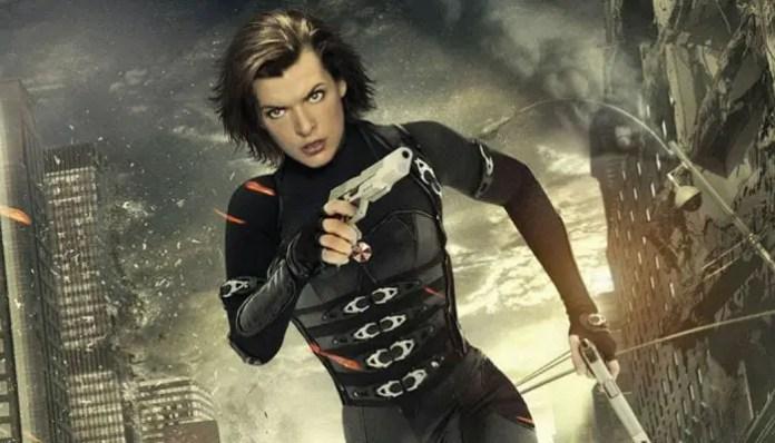 Alice em imagem de Resident Evil 5