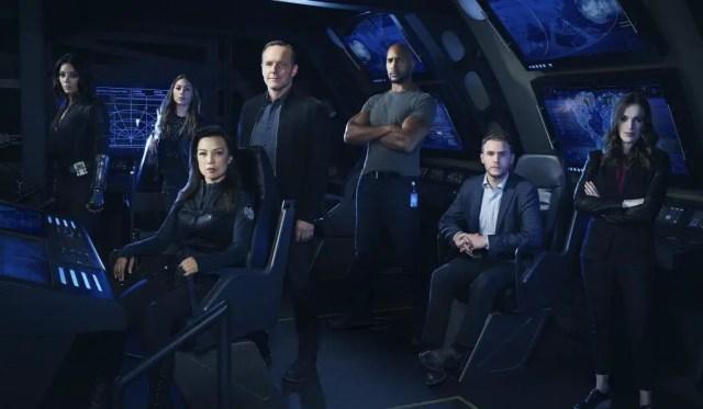 Imagem promocional da 4ª temporada de Agents of Shield