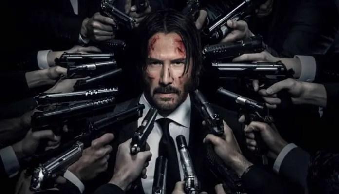 Imagem promocional do filme John Wick