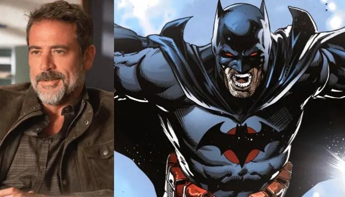Jeffrey Dean Morgan e o Batman de Flashpoint