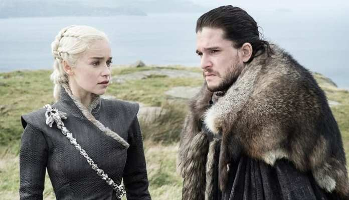 Daenerys e Jon Game of Thrones