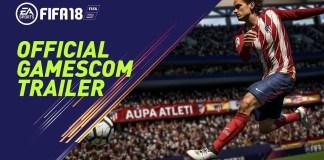 FIFA 18 - Gamescom