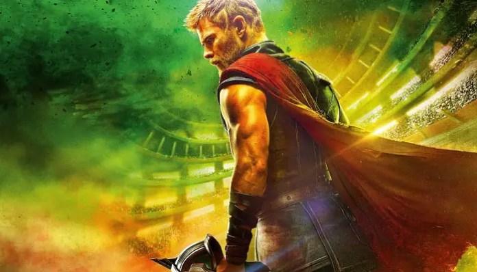Imagem Promocional Thor: Ragnarok