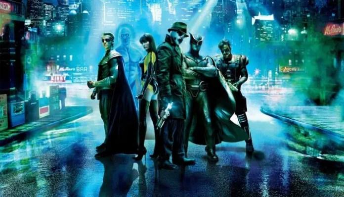 Imagem promocional do filme Watchmen
