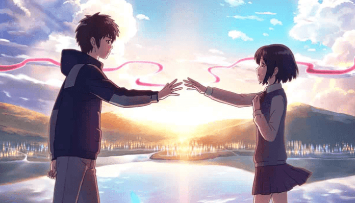 Imagem do anime Your Name