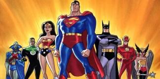 Imagem da série animada Liga da Justiça