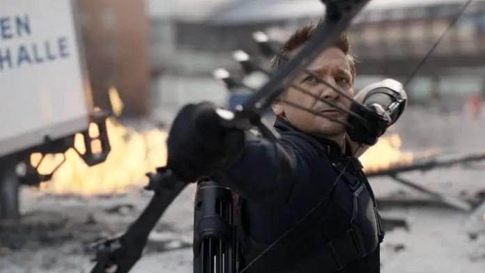 Jeremy Renner em Vingadores: Guerra Infinita