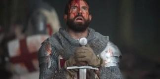 Imagem promocional da série Knightfall