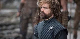 Imagem promocional de Tyrion na série Game of Thrones