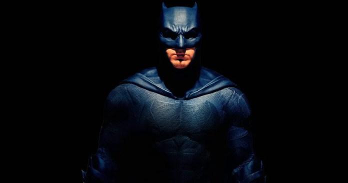 Imagem promocional do Batman em Liga da Justiça
