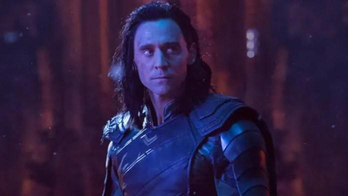 Imagem de divulgação de Loki em Vingadores: Guerra Infinita