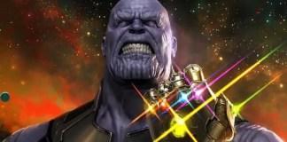 Imagem do Thanos em Vingadores: Guerra Infinita