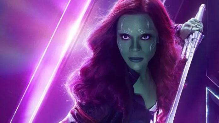 Pôster da Gamora em Vingadores