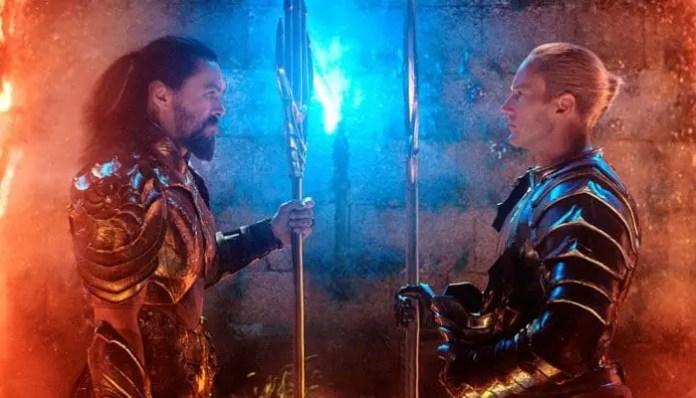 Imagem do Aquaman e Orm