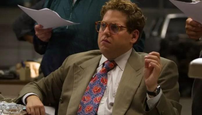 Jonah Hill em O Lobo de Wall Street