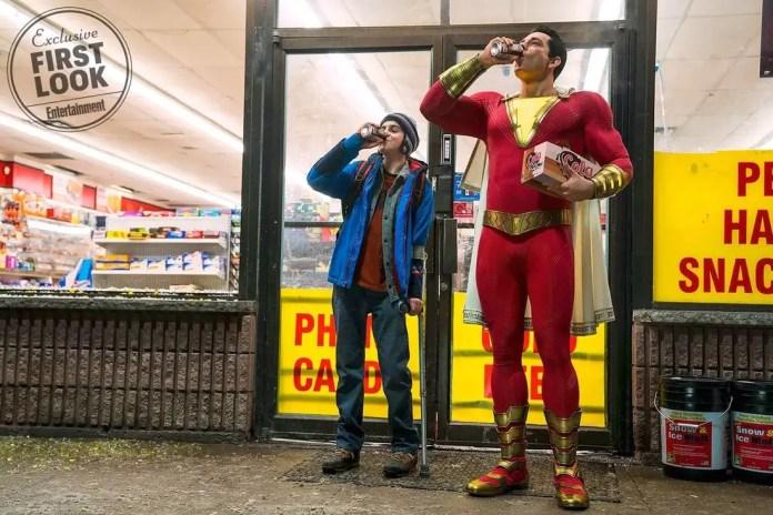 Imagem promocional do filme Shazam!