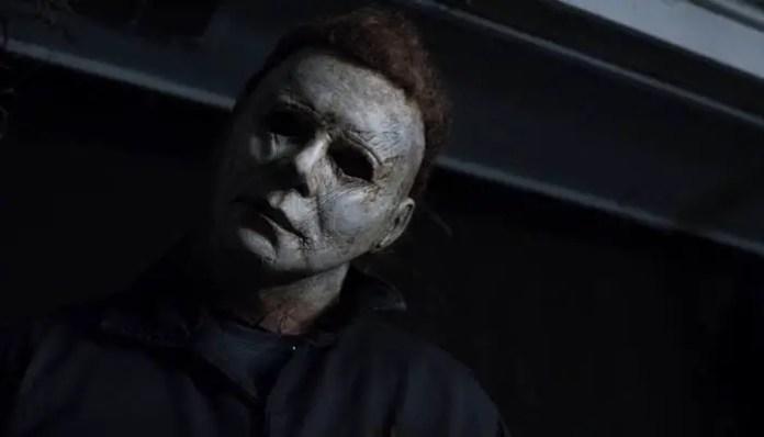 Imagem de Michael Myers no novo Halloween