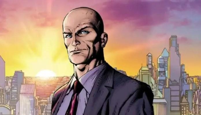Imagem do personagem Lex Luthor, que aparecerá em Titãs