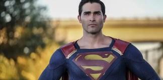 Imagem de Tyler Hoechlin como o Superman na série Supergirl