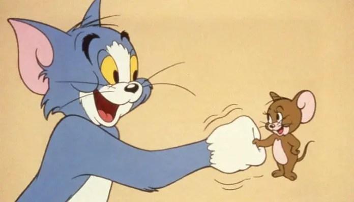 Imagem dos personagens Tom & Jerry