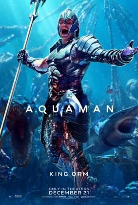 Pôster do Rei Orm em Aquaman