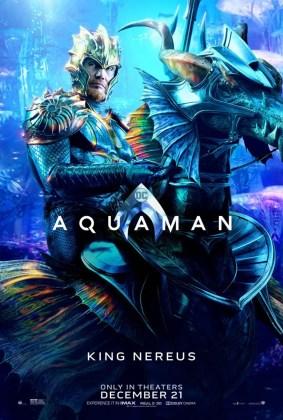 Pôster do Rei Nereus em Aquaman