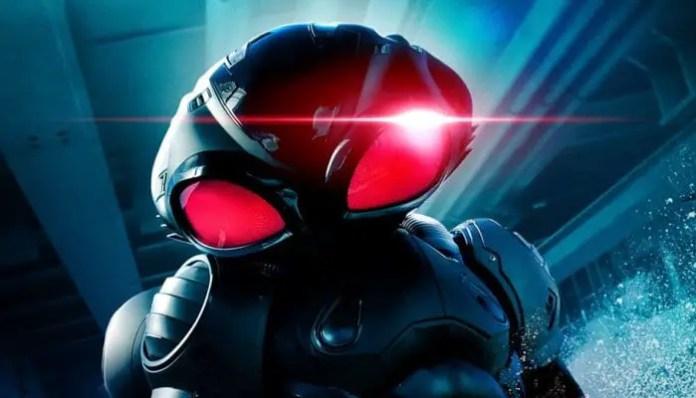 Imagem do vilão Arraia Negra em Aquaman