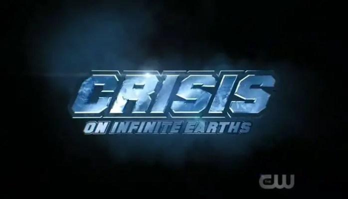 Logo do crossover Crise nas Infinitas Terras