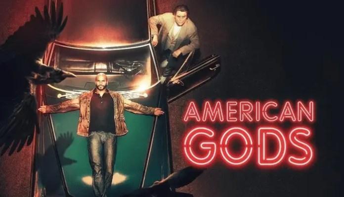 Imagem promocional da 2ª temporada de American Gods